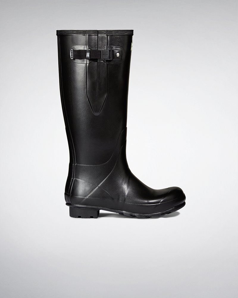 Men's Norris Field Side Adjustable Neoprene Lined Wellington Boots