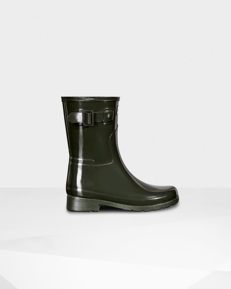 Women's Original Short Refined Gloss Rain Boot