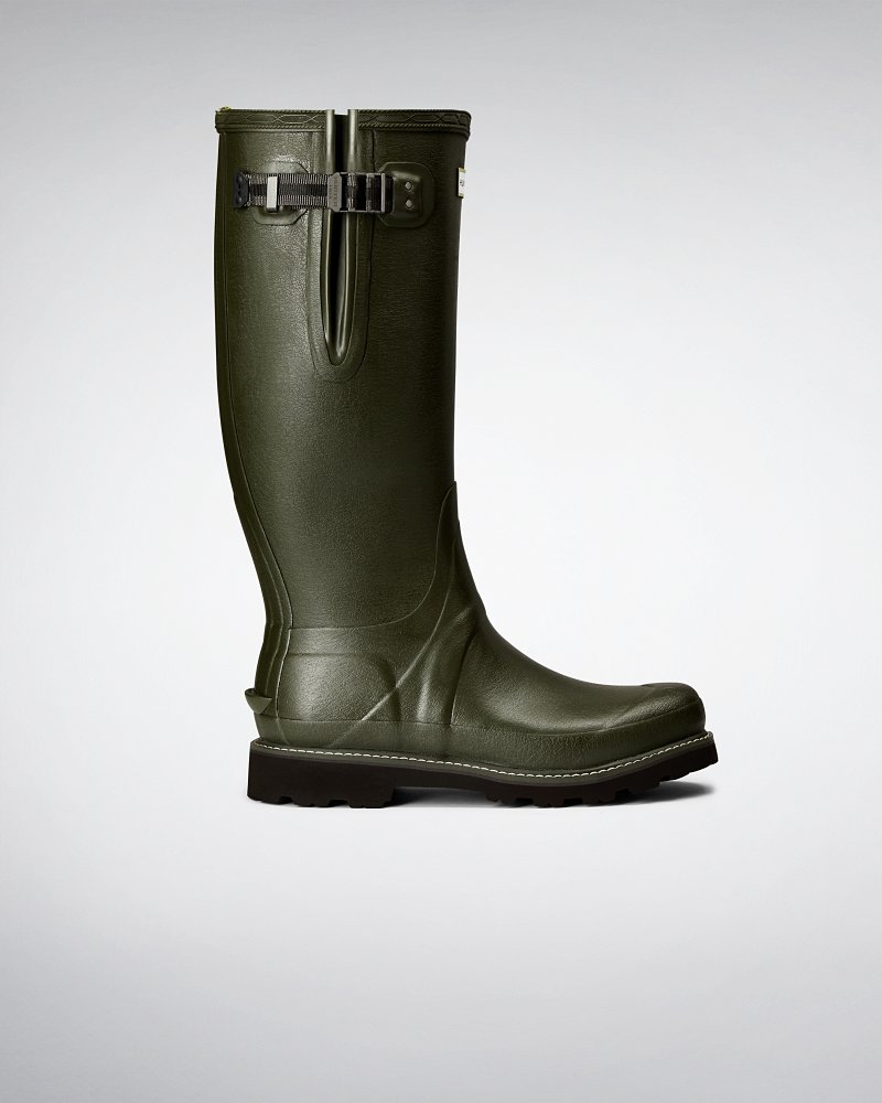 Men's Balmoral Side Adjustable Wellington Boots
