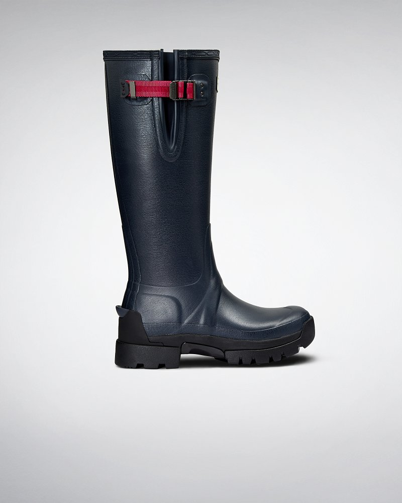 Women's Balmoral Side Adjustable 3mm Neoprene Wellington Boots
