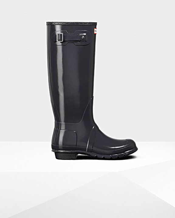 Women's Original Tall Gloss Wellington Boots
