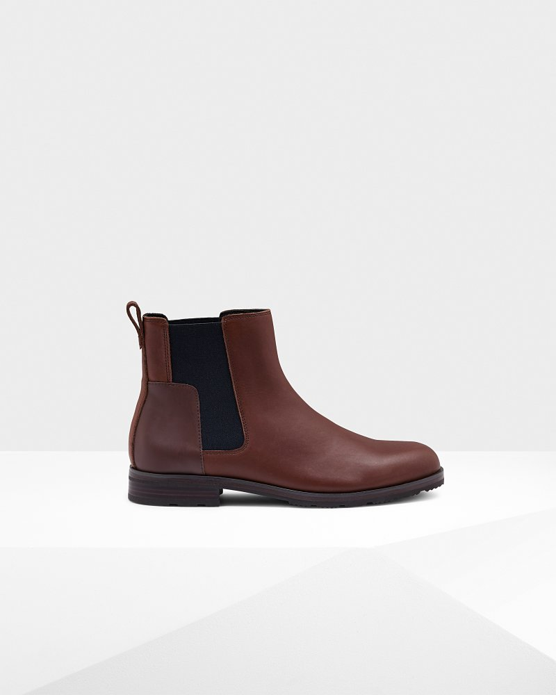 Men's Original Refined Leather Chelsea Boots