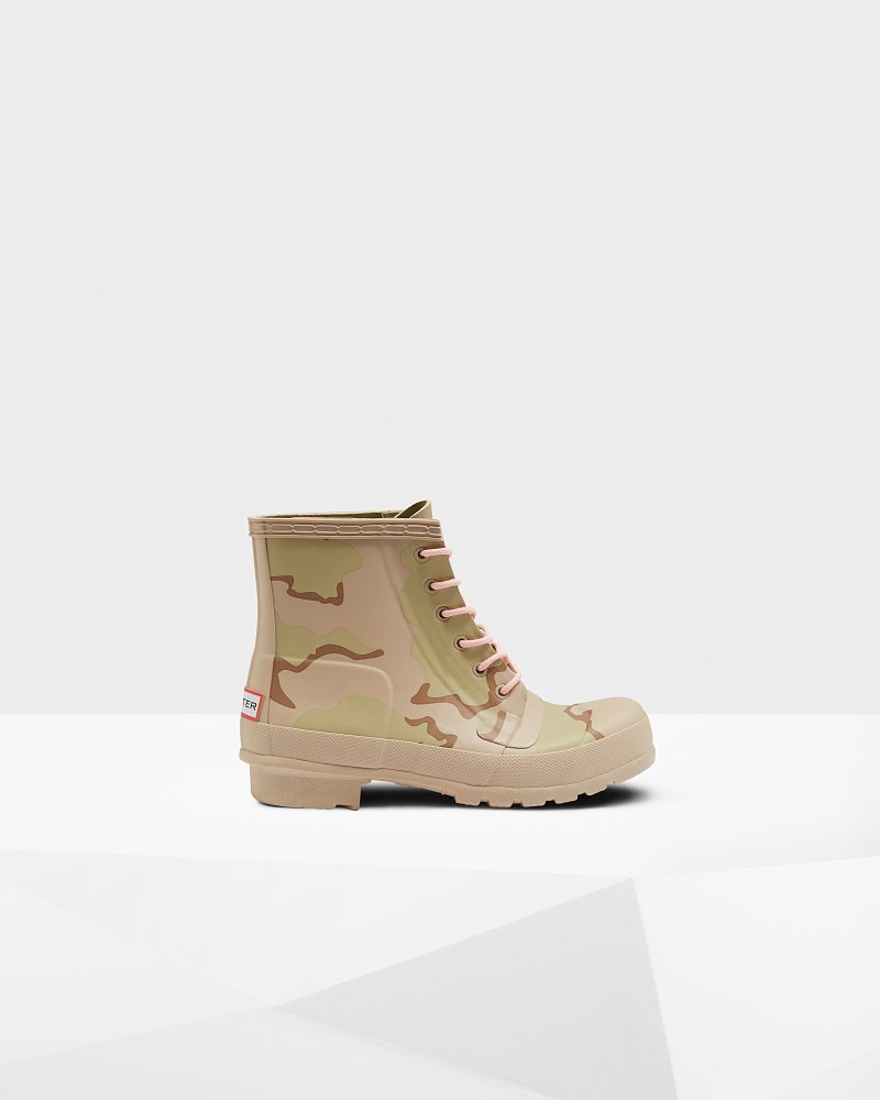 Stivali da donna Original Rubber Lace-Up Desert Camo