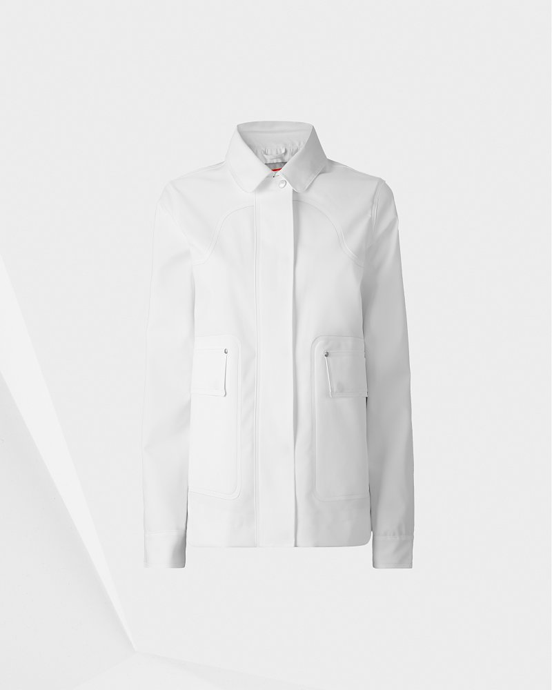 Damen Original gummierte Jacket