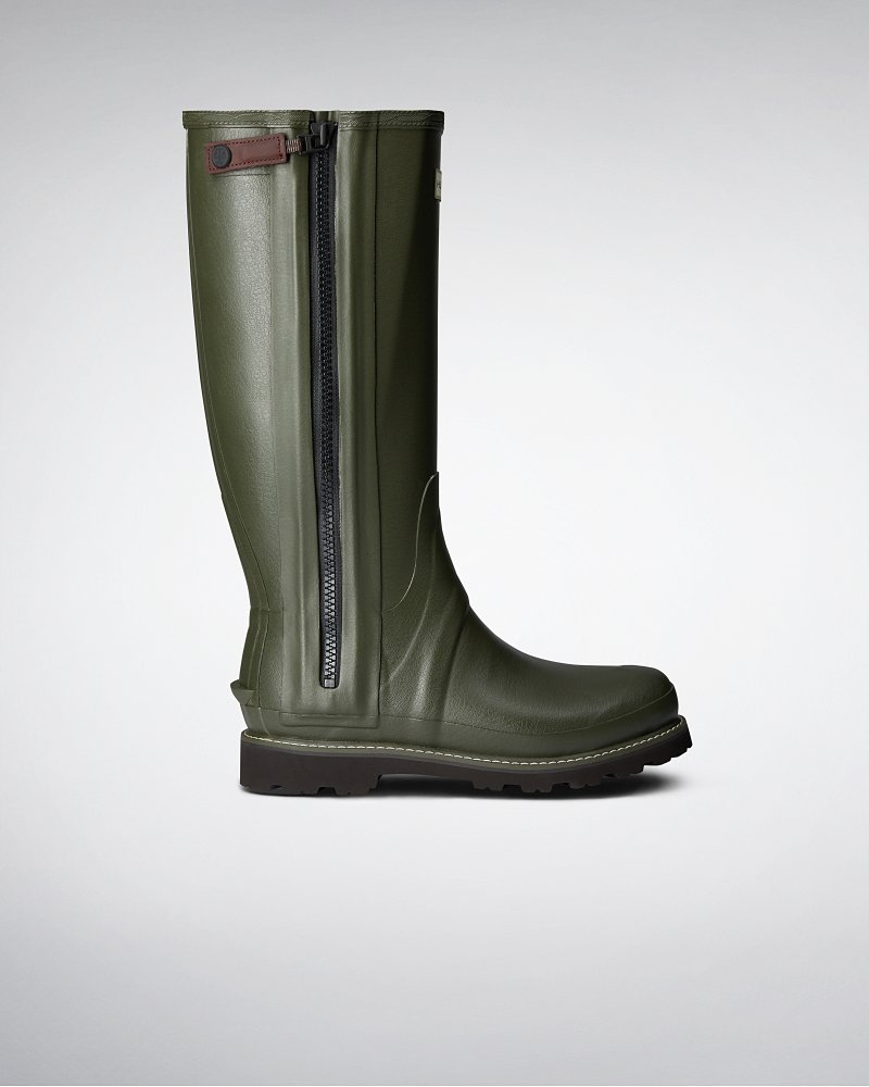 Men's Commando Full Zip Wellington Boots