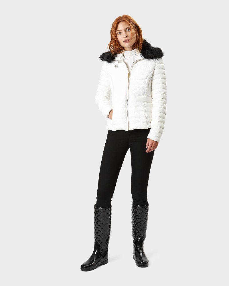 Original Refined Fitted Down Jacket für Damen