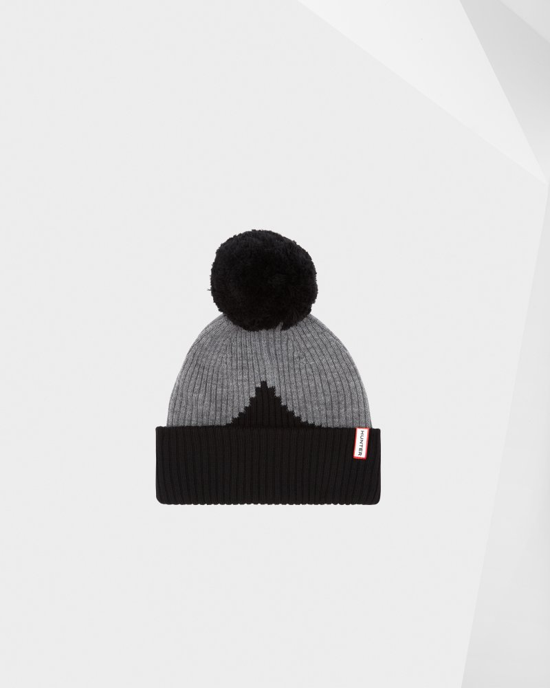Original Moustache Bobble Hat