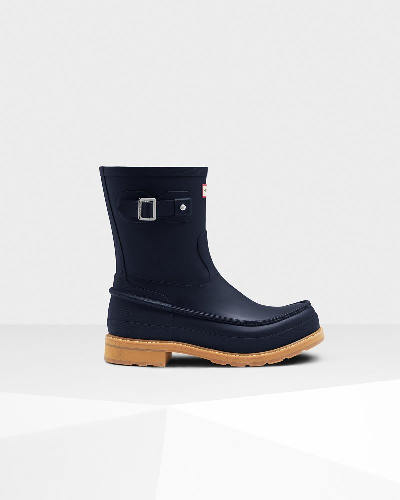 Men's Original Moc Toe Short Wellington Boots