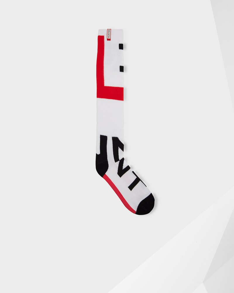 Unisex Original Exploded Logo Knitted Socks