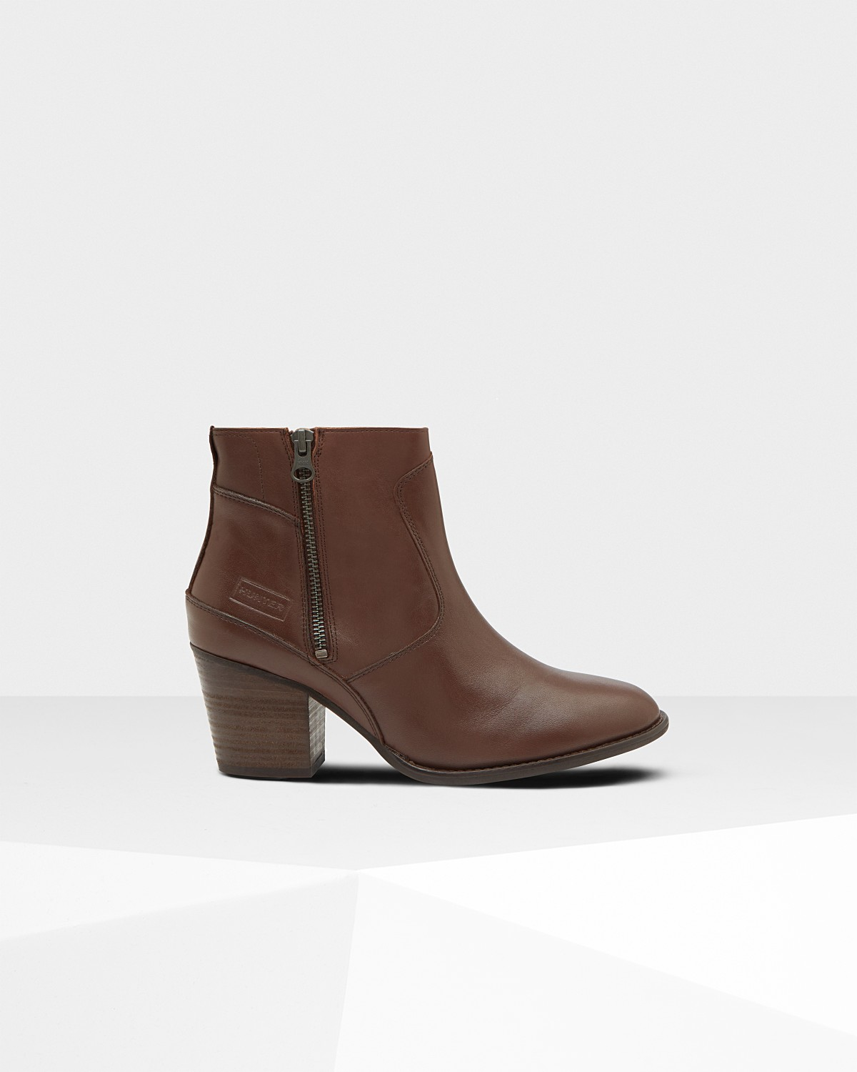 27b552b7fc0c7 women s refined leather ankle boots  bitter choc