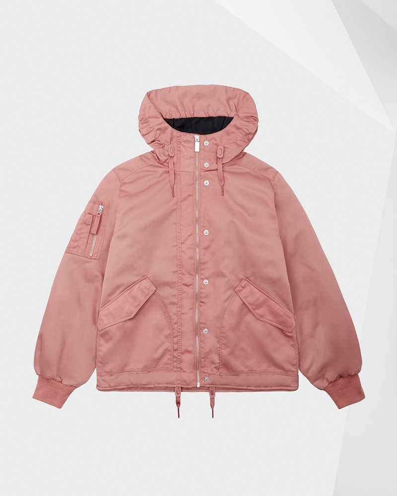 Women's Refined Drawstring Bomber