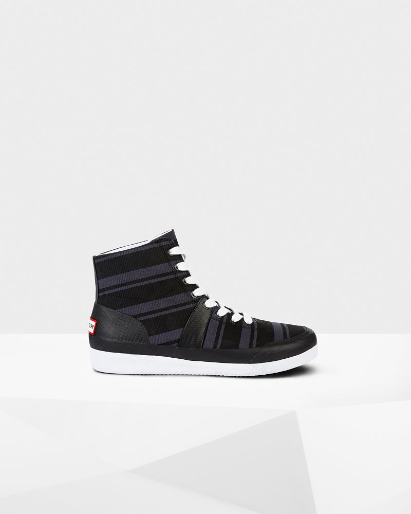 Men's Original Garden Stripe Hi Top Trainers
