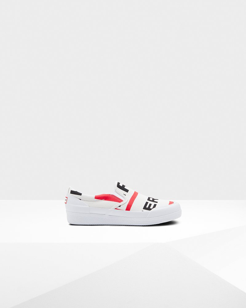 Women's Original Exploded Logo Plimsolls
