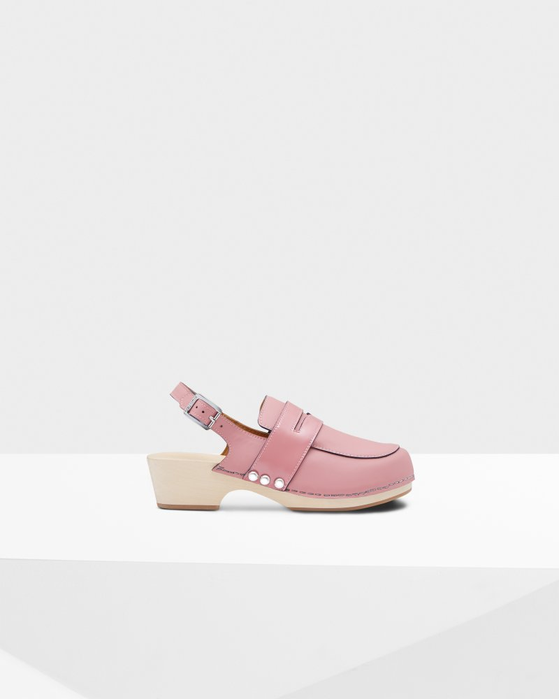 Women's Refined Penny Loafer Clogs