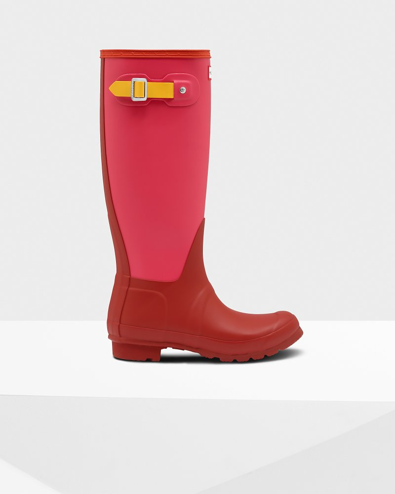 Women's Original Colourblock Tall Wellington Boots
