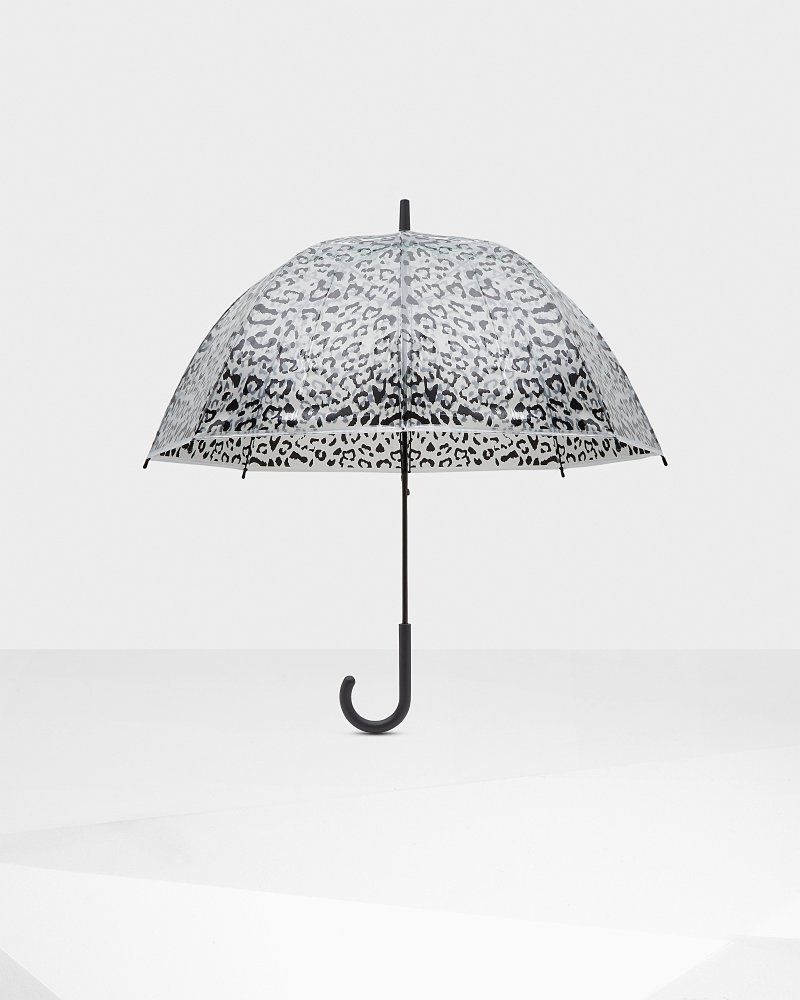 Women's Original Animal Print Bubble Umbrella