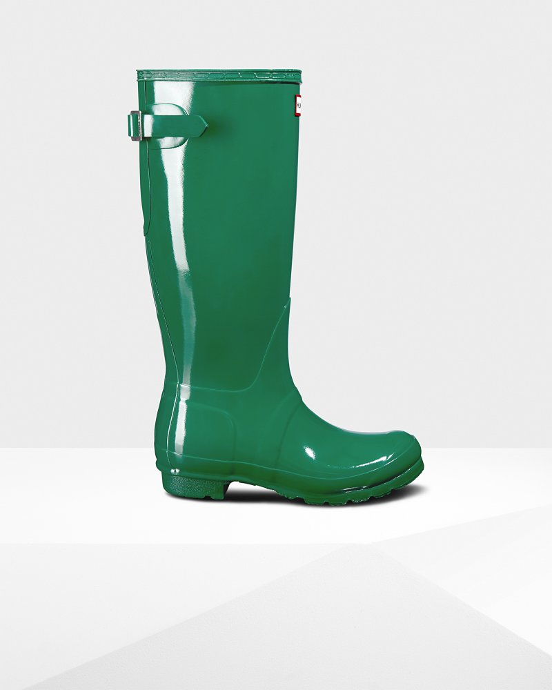Women's Original Tall Adjustable Gloss Wellington Boots