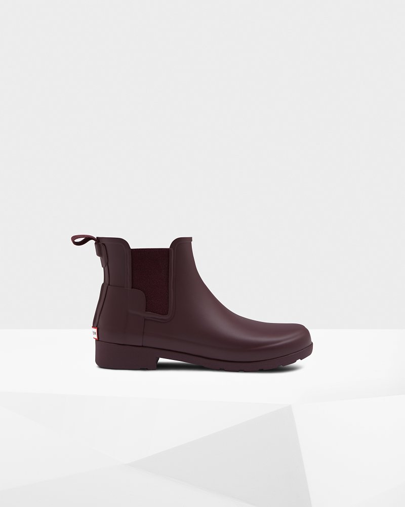Women's Refined Slim Fit Chelsea Boots