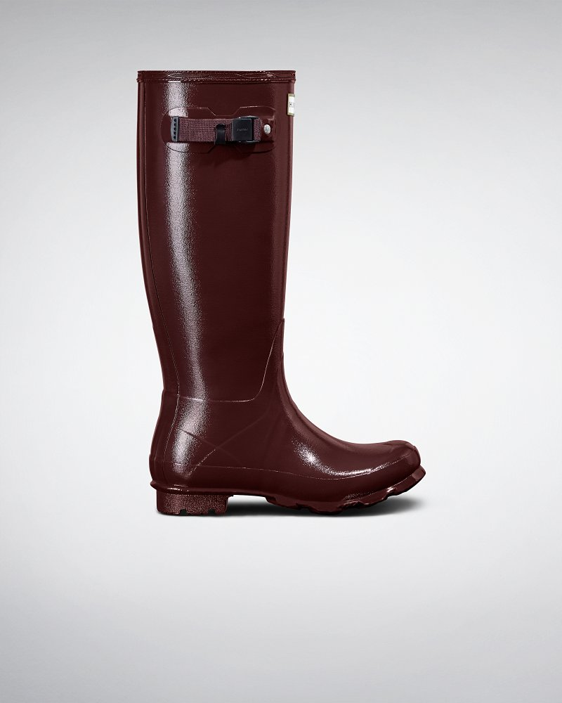 Damen Norris Field Gummistiefel in Glanz-Optik