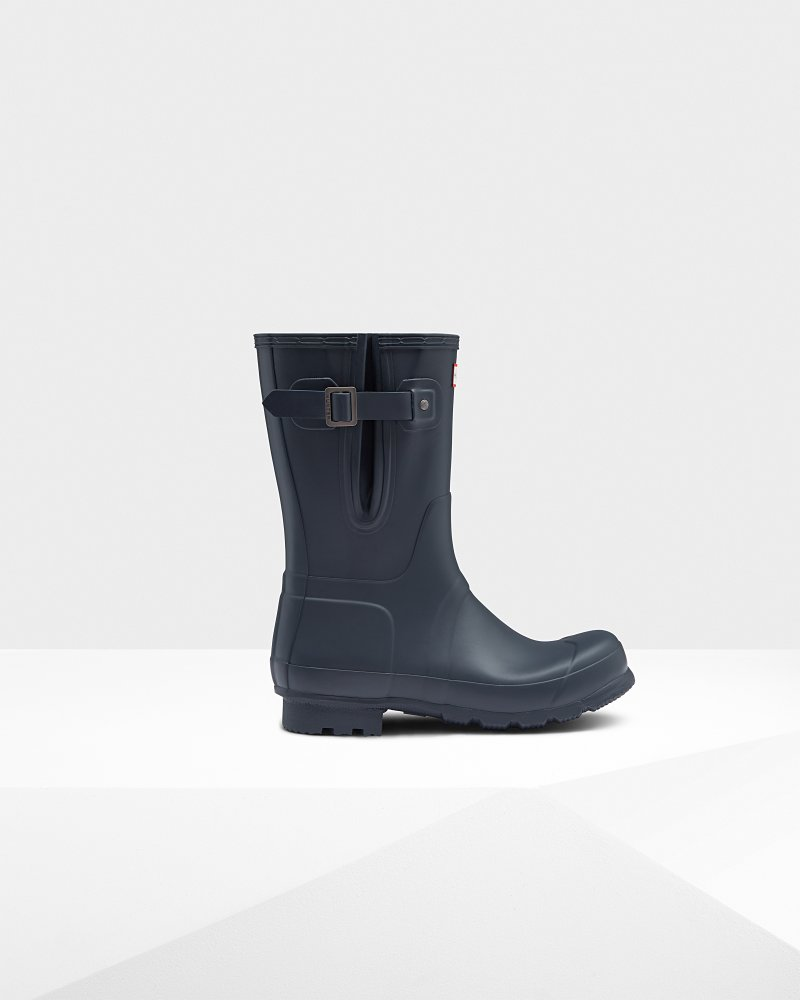 Men's Original Side Adjustable Short Wellington Boots