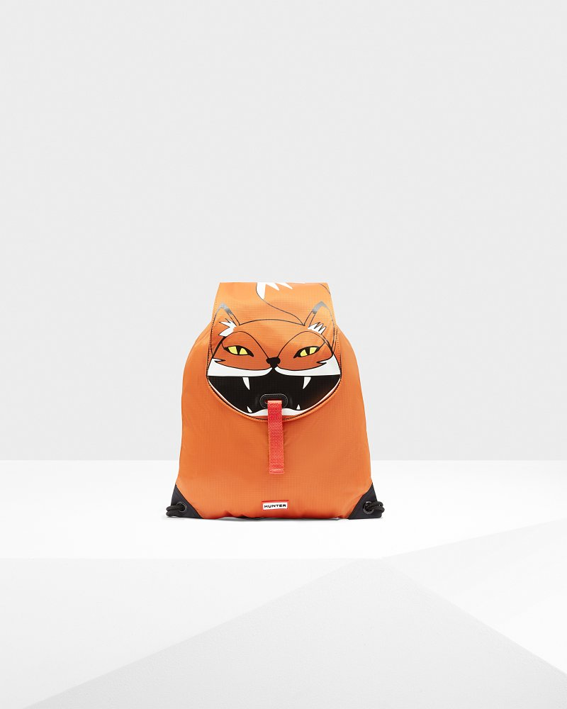 Original Fox Drawstring Backpack