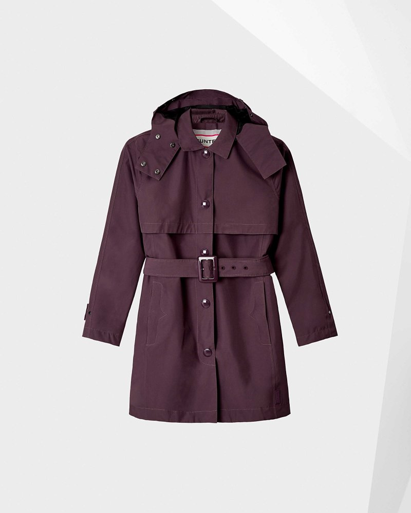 Women's Refined Mid-Length Trench Coat