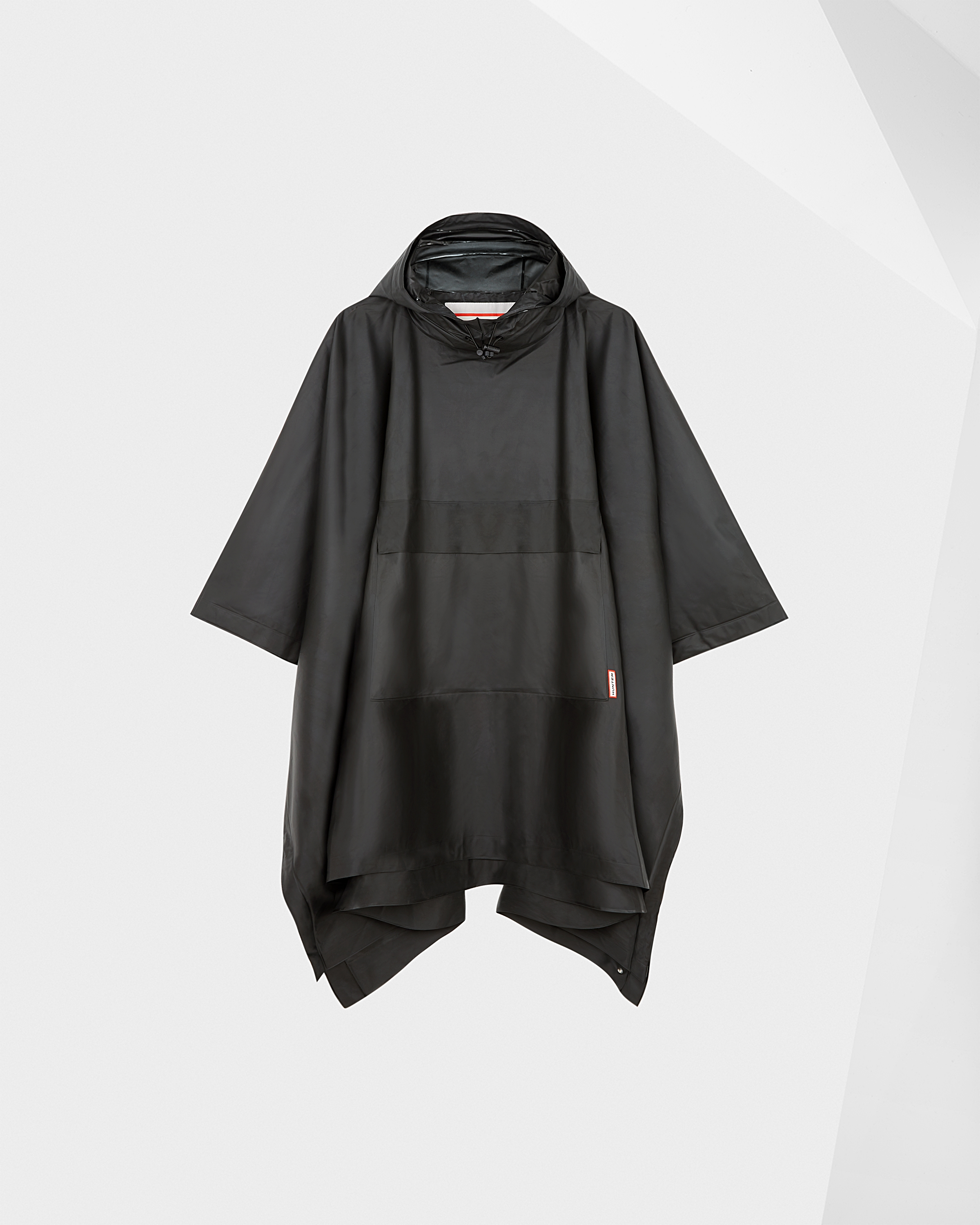 e76adc385 Hunter Black Original Waterproof Vinyl Poncho
