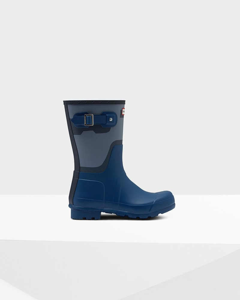 Men's Original Short Shadow Print Rain Boot