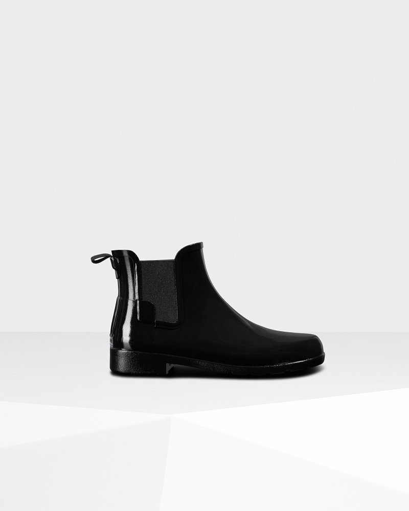 Women's Refined Gloss Slim Fit Chelsea Boot