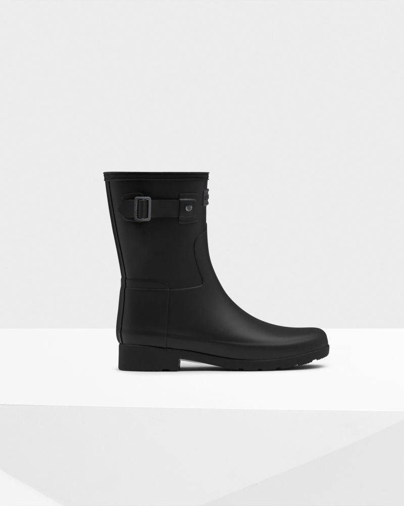 Women's Refined Slim Fit Short Wellington Boots