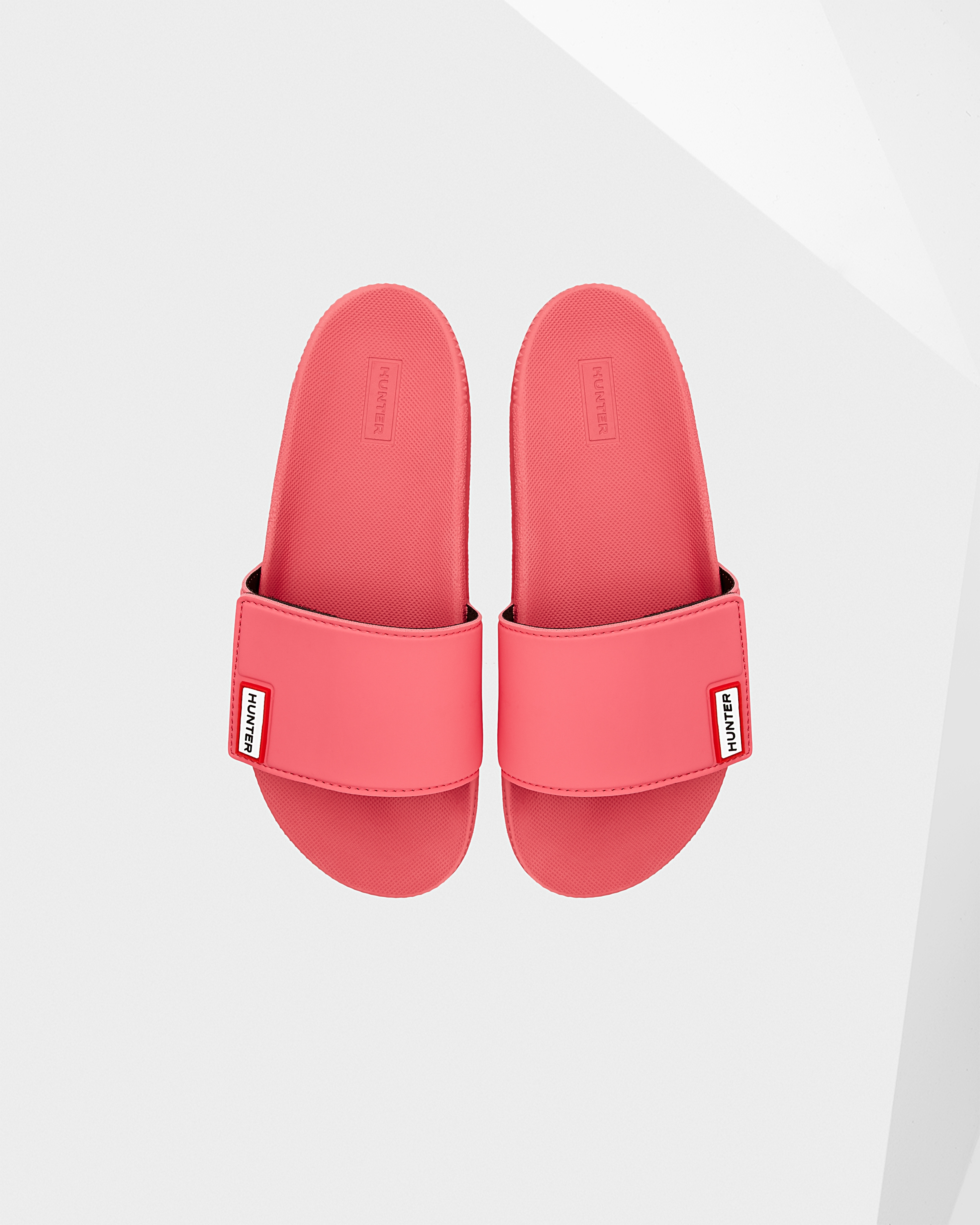 72bd557ef Womens Pink Adjustable Slides | Official Hunter Boots Store