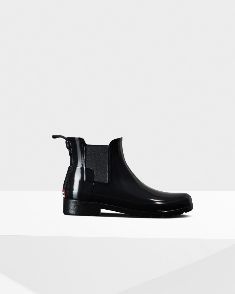 *Size/Fit Summary: True to size, Slim fit. If you are in-between sizes or want to wear a thick sock, it is recommended to size up* With a slimmer fit ideal for city-living, the Women\\\'s Refined Chelsea features a tailored shape and moulded footbed for everyday wear. A rework of the classic ankle boot, each boot is ready for rain and handcrafted from natural rubber which has been vulcanized for superior protection. Retaining the iconic features of the traditional Chelsea, elasticated gussets and a