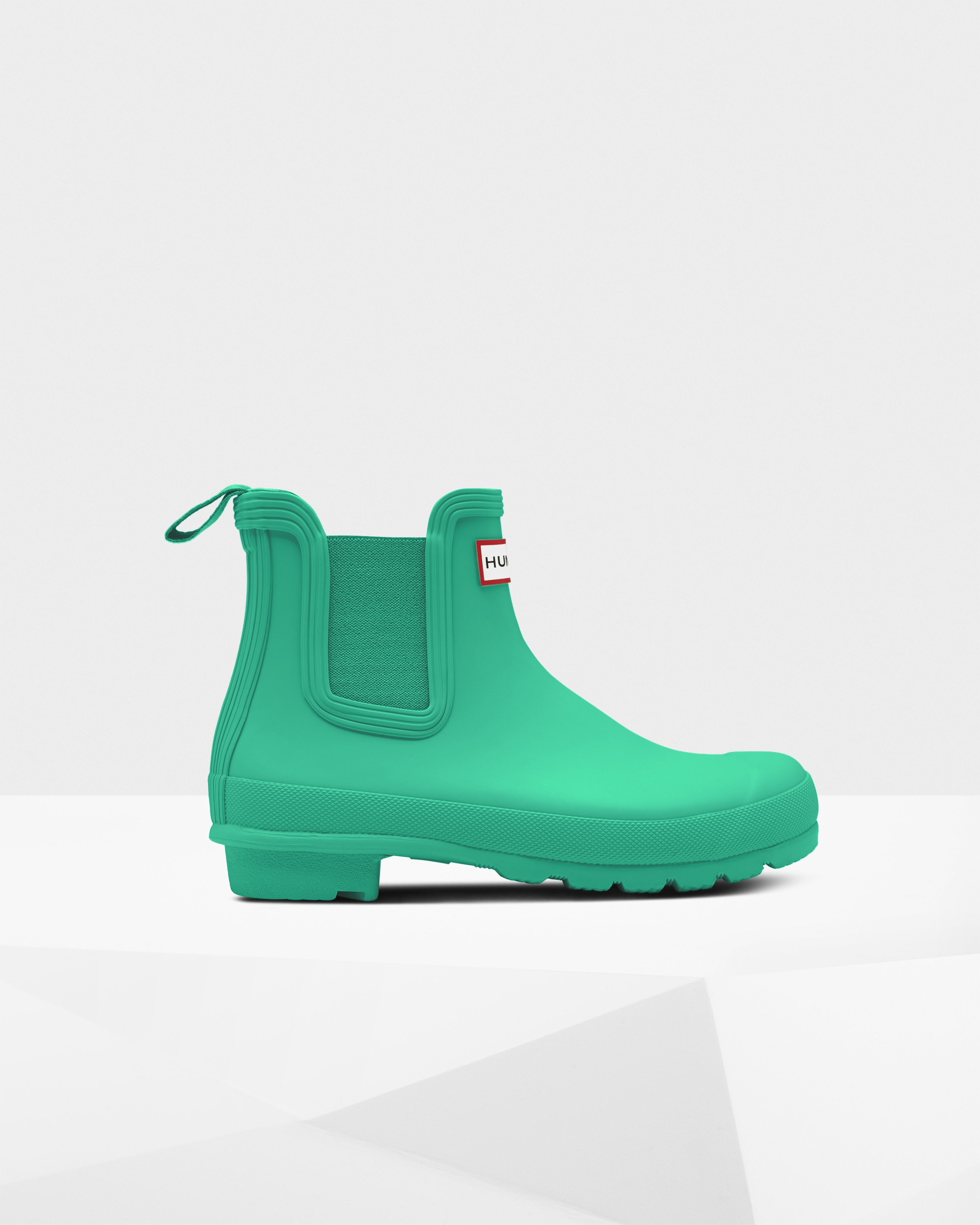 7c6d8ab4d35 Womens Green Chelsea Boots | Official Hunter Boots Store