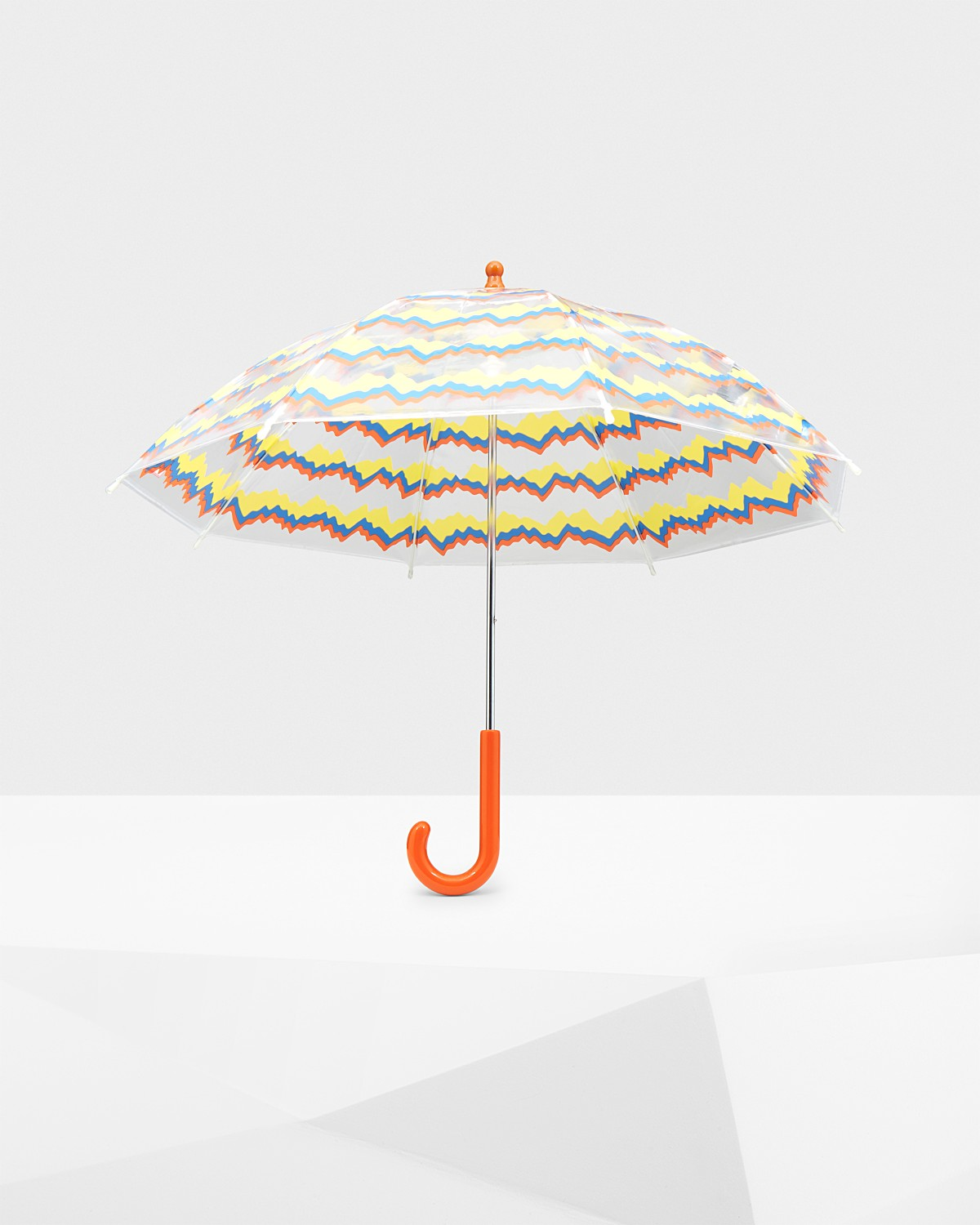 Original Kids' Printed Moustache Bubble Umbrella