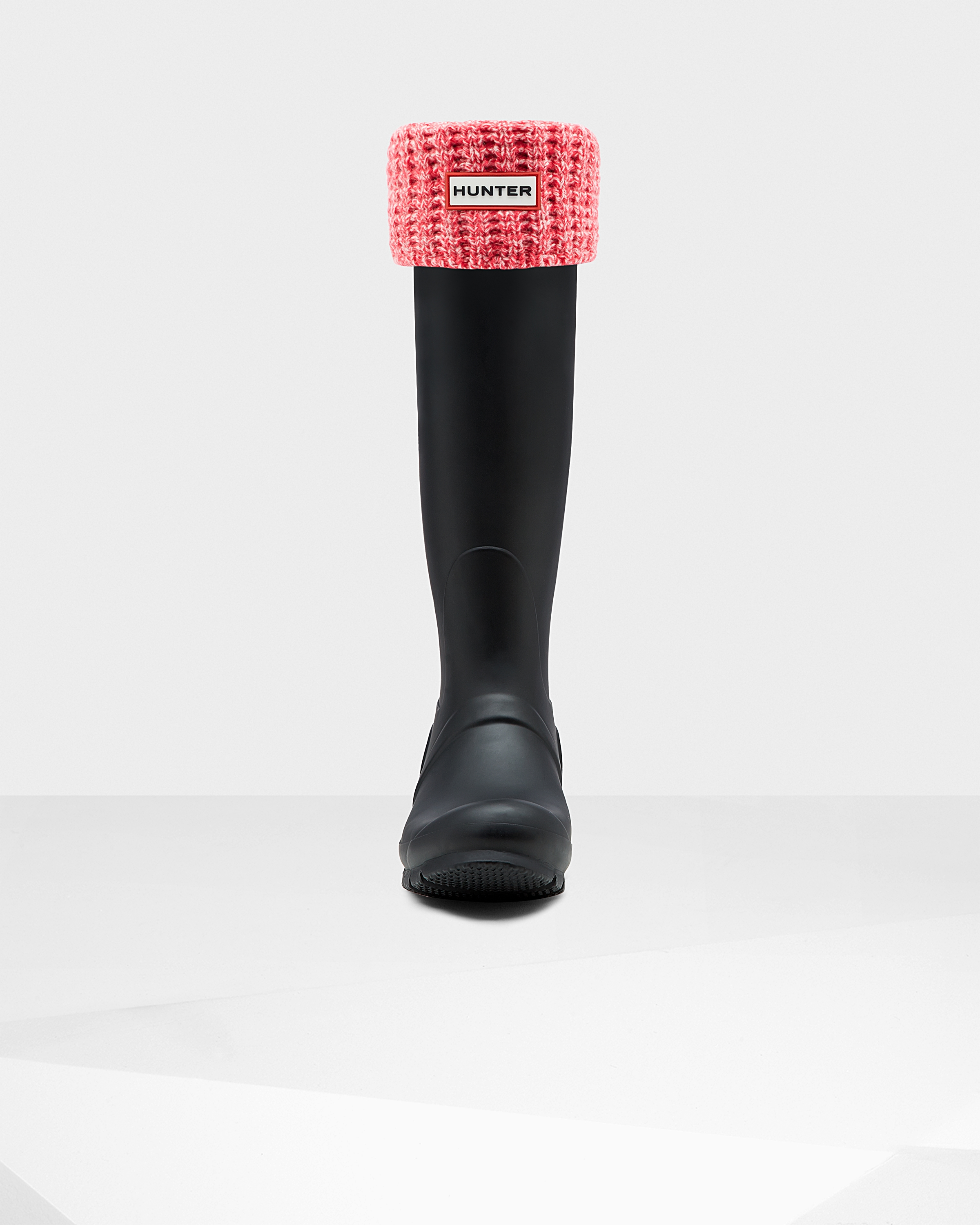Original Waffle Cuff Tall Boot Socks: Pink/hunter White   Official Hunter Boots Store