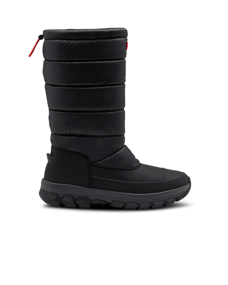*Size/Fit Summary: True to size, Regular fit* Take on new icy habitats with the Men\\\'s Original Tall Snow Boot. Offering maximum protection and warmth to the most daring explorers in even the most challenging terrains. Handcrafted with a fleece lining, PU quilted nylon upper, hydroguard waterproof membrane and an innovative Ortholite footbed, tread through frosty excursions with the comfort and support you can rely on. With the ability to be worn in temperatures as low as -7°F, your feet and legs