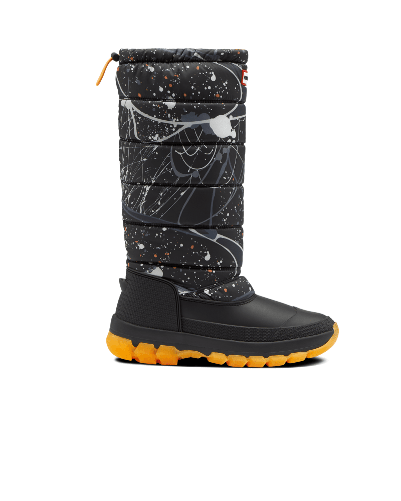 *Size/Fit Summary: True to size, Regular fit* Take on new icy habitats with the Women\\\'s Original Tall Snow Boot. Offering maximum protection and warmth to the most daring explorers in even the most challenging terrains. Handcrafted with a fleece lining, PU quilted nylon upper, hydroguard waterproof membrane and an innovative Ortholite footbed, tread through frosty excursions with the comfort and support you can rely on. With the ability to be worn in temperatures as low as -7°F, your feet and le
