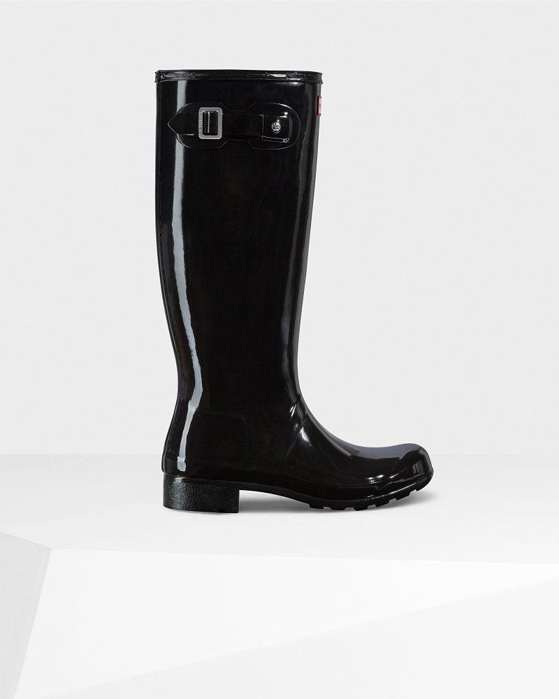 Women's Original Tour Gloss Wellington Boots