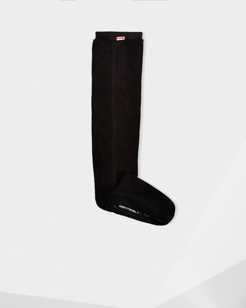 df6623e82ba Hunter Black Unisex Original Fitted Boot Socks - Long | Official ...